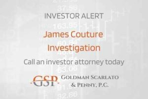 James Couture Investigation in the Wake of Fraud Allegations